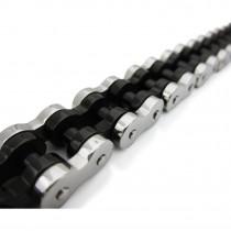 Heavy Black & Silver Classic Rolo Chain TB90