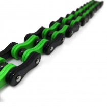 Lime & Black Bike Chain TB157