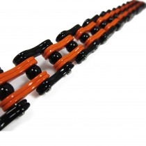 Orange & Black Bike Chain TB158