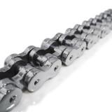 Heavy Silver Bike Chain TB85