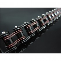 Dark Red & Black Bike Chain TB189
