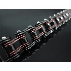 Dark Red & Black Bike Chain TB189