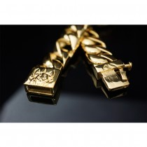 100 Gram Heavy Gold Rolo Chain TB209