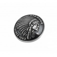 925 Sterling Silver Indian Button SB77