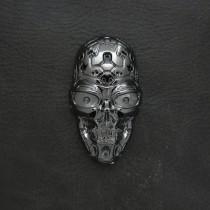 Silver Terminator Skull USB Electric Lighter LG4000