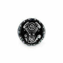 Heavy Skull Engine Ring TR184