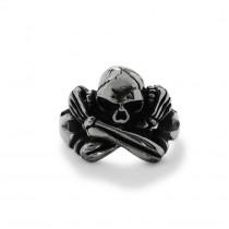 Silver Skull Ring TR114