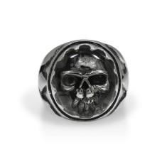 Silver Skull Ring TR160