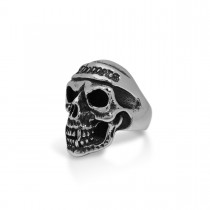 Choppers Silver Skull Ring TR91