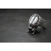 925 Sterling Silver Predator Ring SR37