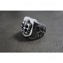 Heavy Fleur-de-lis Ring TR99